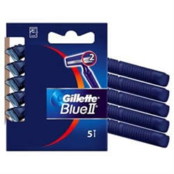 Εικόνα της GILLETTE ΞΥΡΑΦAΚΙΑ ΜΙΑΣ ΧΡΗΣΗΣ  BLUE II FIXED BLISTER 5 ΤΕΜΑΧΙΩΝ + 1 ΤΕΜΑΧΙO ΔΩΡΟ