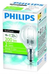 Εικόνα της PHILIPS ECO CLASSIC 30% ΟΙΚΟΝΟΜΙΑΣ ΣΦΑΙΡΙΚΟ E14/18W