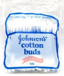 Εικόνα της JOHNSON'S BABY  COTTON BUDS  (ΜΠΑΤΟΝΕΤΕΣ) ΦΑΚΕΛΑΚΙ  100 ΤΕΜΑΧΙΩΝ