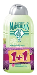 Εικόνα της Le Petit Marseillais σαμπουάν με aloe vera για λιπαρά μαλλιά 300ml + 300ml δώρο