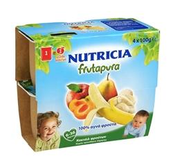 Εικόνα της NUTRICIA FRUTAPURA ΕΤΟΙΜΗ ΦΡΟΥΤΟΚΡΕΜΑ ΚΟΚΤΕΙΛ 5 ΦΡΟΥΤΑ 4Χ100GR