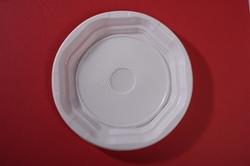 Εικόνα της Πιάτο πλαστικό λευκό  Ν4 20 τεμαχίων