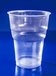 Εικόνα της Ποτήρι πλαστικό κρύσταλ  Ν503/3 νερού 50 τεμαχίων
