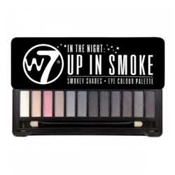 Εικόνα της W7 COSMETICS IN THE NIGHT UP IN SMOKE EYECOLOUR PALETTE 15.6g