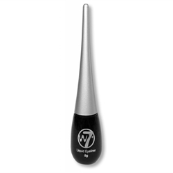 Εικόνα της W7 COSMETICS LIQUID EYELINER BLACK 8ml