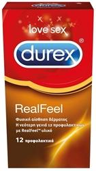 Εικόνα της DUREX REALFEEL  12 ΤΕΜΑΧΙΩΝ