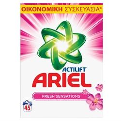 Εικόνα της Ariel σκόνη πλυντηρίου touch of lenor 45 μεζούρες