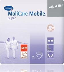 Εικόνα της HARTMANN - MoliCare Mobile super Large (L) Βρακάκι ημέρας για Μέτρια εώς Σοβαρή Μορφή Ακράτειας - 14τμχ?