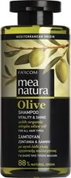 Εικόνα της Farcom Mea Natura Olive Σαμπουάν Ζωντάνια & Λάμψη 300ml