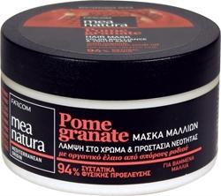 Εικόνα της Farcom Mea Natura Pomegranate Μάσκα Μαλλιών Λάμψη στο Χρώμα & Προστασία Νεότητας 250ml