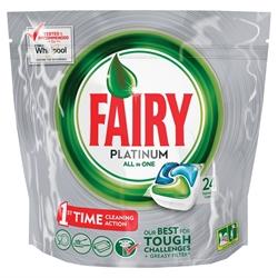 Εικόνα της Fairy caps platinum πλυντηρίου πιάτων κανονικό 24 τεμαχίων
