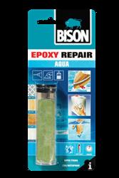 Εικόνα της BISON  epoxy stick aqua Εποξική κόλλα - στόκος πλαστελίνη 56gr