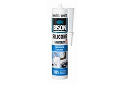 Εικόνα της BISON Σιλικόνη  (Silicone Sanitary) 280 ml, ΛΕΥΚΗ