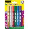 Εικόνα από UHU Κόλλα  Glitter Glue Blister    6 x 10ml
