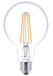 Εικόνα της PHILIPS CLASSIC LED GLOBE 6W/E27 ΘΕΡΜΟ ΦΩΣ