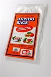 Εικόνα της RAPIDO BAGS ΣΑΚΟΥΛΕΣ ΤΡΟΦΙΜΩΝ N3 ΜΕΓΑΛΕΣ 25 ΤΕΜ