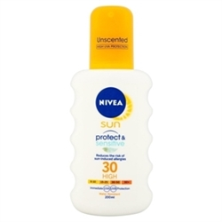 Εικόνα της Nivea Sun Protect & sensitive spray lotion SPF30 200ml