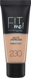 Εικόνα της Maybelline Fit Me Matte & Poreless Foundation 230 Natural Buff 30ml