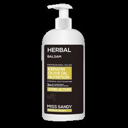 Εικόνα της Miss Sandy Balsam Herbal Keratin-Olive Oil Nutrition 750ml