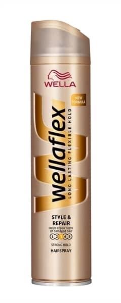 Εικόνα από WELLAFLEX HAIR SPRAY STYLE & REPAIR  ΑΝΑΔΟΜΗΣΗ 250 ML