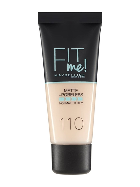 Εικόνα από Maybelline Fit Me Matte Poreless Foundation 110 Normal to Oily  30ml