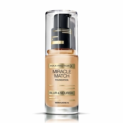 Εικόνα της Max Factor Miracle Match Foundation Blur & Nourish No 45 Warm Almond (30ml)