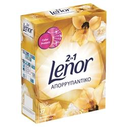 Εικόνα της Lenor απορρυπαντικό κουτί gold orchid 37 μεζούρες
