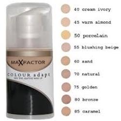 Εικόνα της Max Factor Colour Adapt Cream Make Up 70 natural 34ml