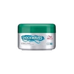 Εικόνα της WELLA SHOCKWAVES  GO MATT CLAY 75ML
