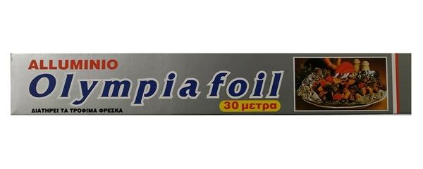 Εικόνα από OLYMPIA FOIL ΑΛΟΥΜΙΝΟΧΑΡΤΟ 30mΧ29cm