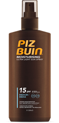 Εικόνα της PIZ BUIN IN SUN ULTRA LIGHT SPRAY  SPF15 200ML