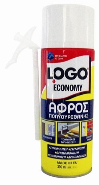 Εικόνα από LOGO ΑΦΡΟΣ ΠΟΛΥΟΥΡΕΘΑΝΗΣ ECONOMY 300ML
