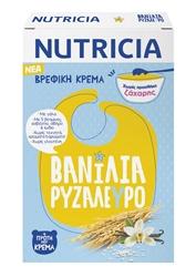 Εικόνα της NUTRICIA ΒΡΕΦΙΚΗ ΚΡΕΜΑ ΒΑΝΙΛΙΑ-ΡΥΖΑΛΕΥΡΟ 250GR