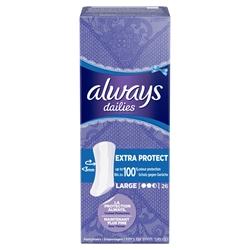 Εικόνα της Always σερβιετάκια xprotect large 26 τεμαχίων