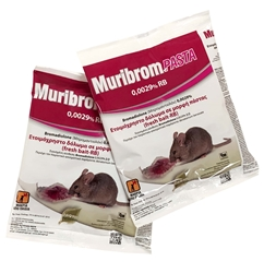 Εικόνα της Muribrom pasta για ποντίκια 150gr Δάφνη Agrotrade