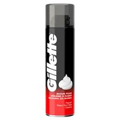 Εικόνα της Gillette αφρός ξυρίσματος classic regular 200ML