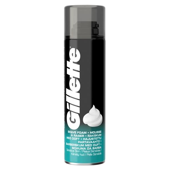 Εικόνα από Gillette αφρός ξυρίσματος classic sensitive 200ml