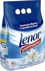 Εικόνα της Lenor απορρυπαντικό σκόνη μεσογειακή φρεσκάδα 1.92kg (24μεζ.)