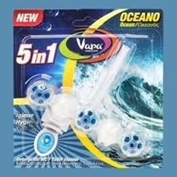 Εικόνα της Vapa  WC 5σε1  αρωματικό 50gr Ocean