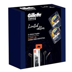 Εικόνα της Gillette ανταλλακτικά proglide blister 2Χ 3 τεμαχίων +hands free δώρο