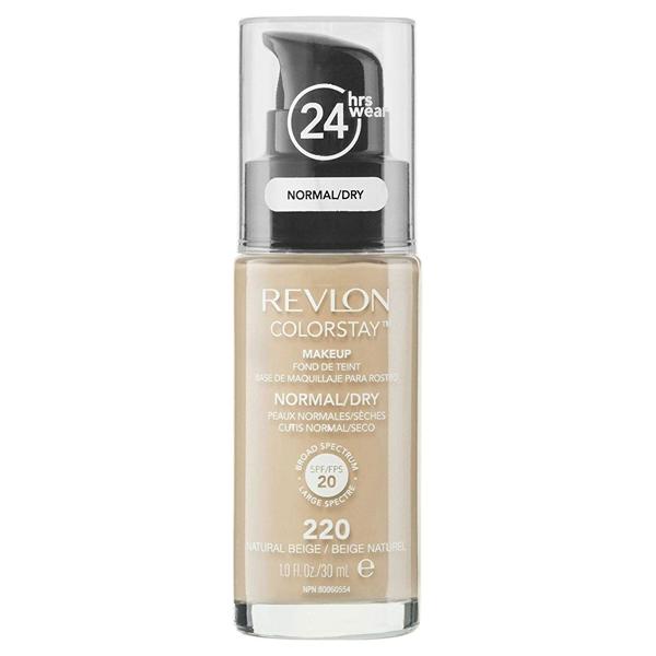Εικόνα από Revlon Colorstay Foundation Normal/Dry Skin, 220 Natural Beige 30ml