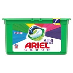 Εικόνα της Ariel pods All in 1 color 40 τεμαχίων