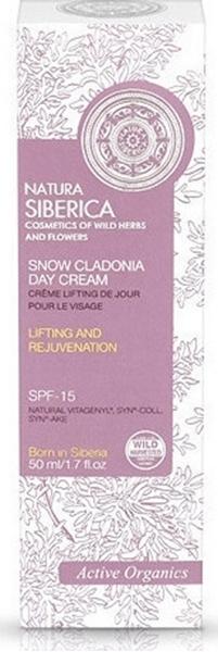 Εικόνα από Natura Siberica Snow Cladonia Day Cream 15SPF 50ml