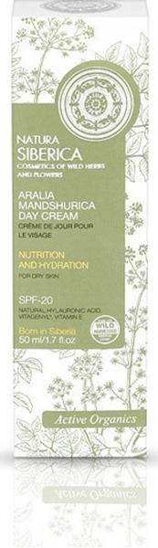 Εικόνα από Natura Siberica Aralia Mandshurica Day Cream Nutrition and Hydration for Dry Skin 50ml