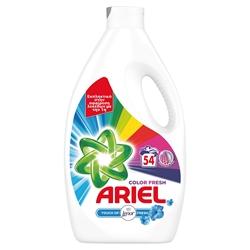 Εικόνα της Ariel υγρό πλυντηρίου  tol color 54 μεζούρες