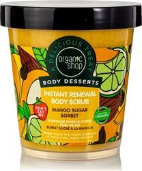 Εικόνα της Natura Siberica Organic Shop Body Desserts Mango Sugar Sorbet Instant Renewal Body Scrub 450ml
