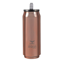 Εικόνα της Estia Travel Cup Save The Aegean Rose Gold 0.5lt