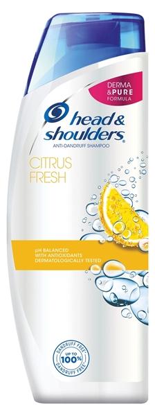 Εικόνα από Head & shoulders σαμπουάν citrus fresh 360ml