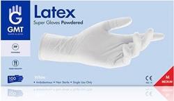 Εικόνα της Γάντια Latex Μιας Χρήσης με Πούδρα  medium GMT 100τεμ.
