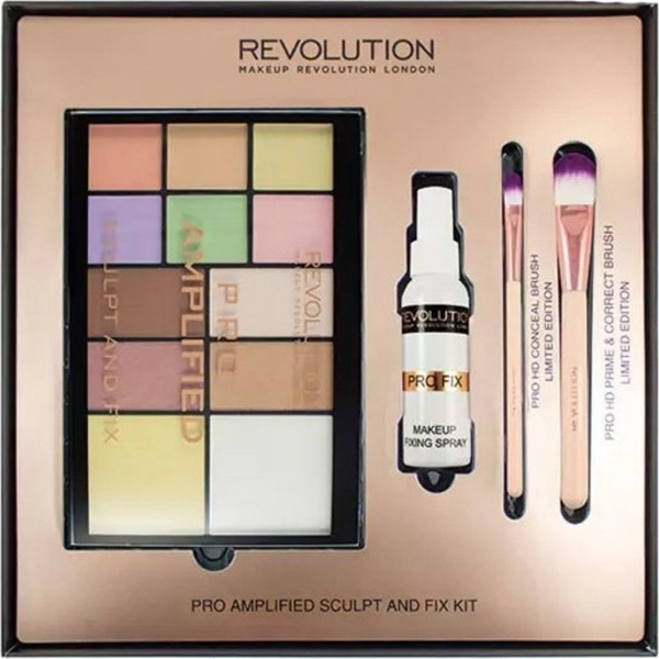 Εικόνα από Revolution Beauty Pro Amplified Sculpt & Fix Kit